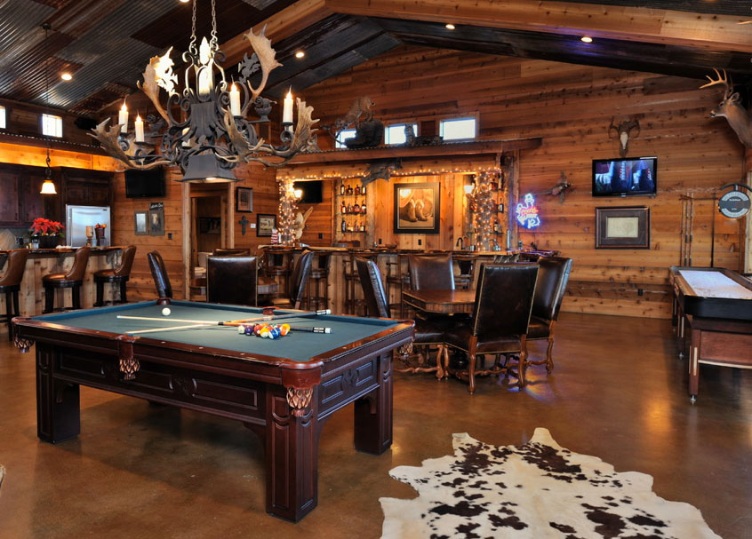 Man Cave Ideas For The Outdoorsman : Man cave for the outdoorsman high street dfw